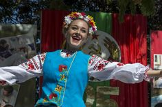 Stock Photo - Female Folkloric Dancer - Anniversary of the Pridnestrovian Moldavian Republic PMR, Transnistria, Soviet USSR Moldova Beautiful People, Most Beautiful, South Ossetia, Soviet Union, 25th Anniversary, Folklore, Dancer, Culture, Stock Photos