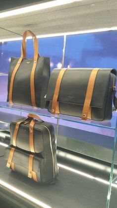 This timeless, elegant luggage collection is created by FPM for Aston Martin's lifestyle collection