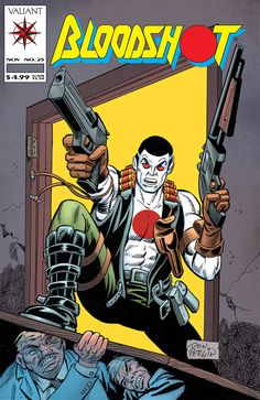 #Bloodshot 25 #DonPerlin Cover https://www.facebook.com/DevilComics