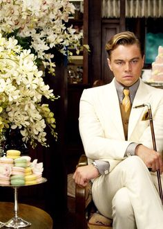 Leonardo Dicaprio looking SHARP for the #GreatGatsby #Fashion #Men
