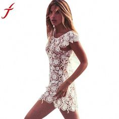 617e9086f571 Looking for the perfect Sexy Women Swimwear, Misaky Lace Crochet Hollow  Bikini Cover Up Beach Dress (Xl, White)? Please click and view this most  popular ...