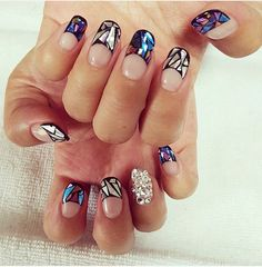 Glass Nail Art Is the Latest Korean Beauty Craze You Need to Try                                                                                                                                                     More