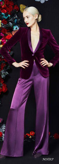 Fashion 2020, Love Fashion, Autumn Fashion, Fashion Design, Fashion Trends, Color Fashion, Alice Olivia, Dandy, Magenta