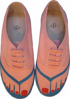 Shoes as a Canvas: Pimp My Flats                              …
