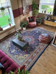 Home And Living, Living Room, Wall Paint Colors, Dream Apartment, Future House, Bohemian Rug, Boho, Ikea, Sweet Home