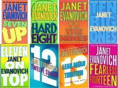 Stephanie Plum series by Janet Evanovich