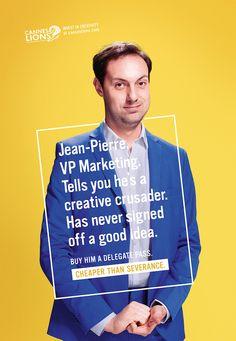 Jean Pierre, VP Marketing | Canns Lions 2015 | McCann London
