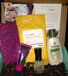 october subscription boxes | October Beauty Box 5