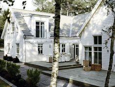 Trivselhus AB - Villa im New England Style - www.trivselhus.de - Foto: Patrik Svedberg