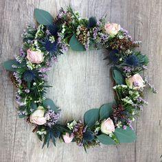 DIY couronne fleurs printemps