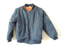 Crop Bomber Jacket by Wardrobesalad on Etsy