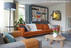 RESULTAAT 04: #Indelingsplan, #meubeladvies, #meubelontwerp (grote kast), #lichtplan, #kleuradvies en #stylingadvies door studio de WOON FACTOR.