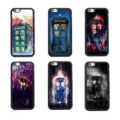 Tardis Who Doctor Silicone Case For iPhone 4s 5 5s SE 5C 6 6S Plus iPhone 7 Plus