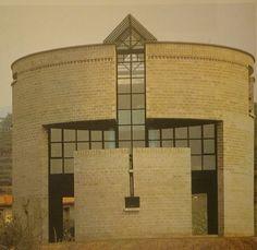 Mario Botta, Casa Rotonda, dom Medici w Stabio, 1980-1982