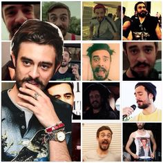 Kyle Simmons of Bastille. Take a minute to absorb it all
