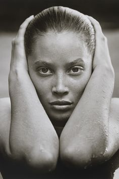 Herb Ritts photo- Christy Turlington, Hollywood, 1988   - HarpersBAZAAR.com