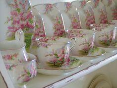 my Blossom tea set