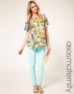 Mint maternity jeans. Please please please! Can't stop stalking these.