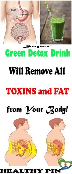 THIS SUPER GREEN DETOX DRINK WILL REMOVE ALL TOXINS AND FAT FROM YOUR BODY!