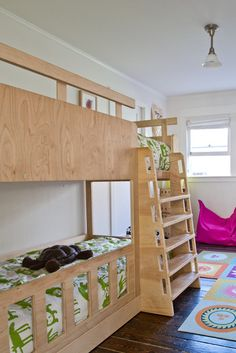 bunkbeds - the girls have often mentioned sharing a sleeping room and make the other room play room. hmmmm.