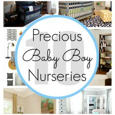 Baby Boy Nursery Inspirations