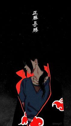 Naruto Wallpaper Iphone, Ps Wallpaper, Wallpaper Animes, Cute Anime Wallpaper, Animes Wallpapers, Itachi Uchiha, Naruto Fan Art, Naruto Shippuden Sasuke, Naruto Sasuke Sakura