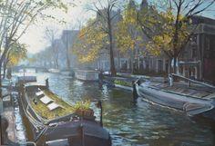 Amsterdam, najaar Prinsengracht
