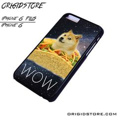 DOGE TACO HIPSTER iPhone 6 / 6 Plus Case