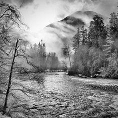 The Elwha River, Washington