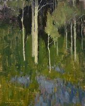David  Grossmann David Grossmann- Blue Carpet- Matthews Gallery
