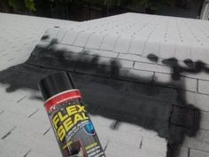Seal Roof Leak Chicken Coop Using The Flex Seal To Help Protect The Roof And Wood .