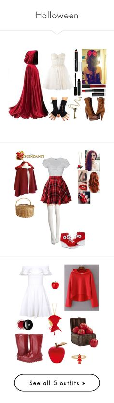 """""""Halloween"""" by blackz-1 ❤ liked on Polyvore featuring Zuhair Murad, Paolo Shoes, Givenchy, Smashbox, Le Métier de Beauté, Rock 'N Rose, Pier 1 Imports, French Kiss, Once Upon a Time and INDIE HAIR"""