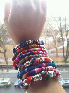 Peruvian Bracelets via Etsy.