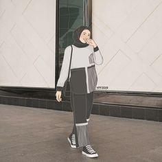 #yffillustration #yffillustration2019 #yff2019 #illustration #ilustrasi #ilustrator #art #drawing #doodle #design #digitalillustration #ilustrasidigital #outfitdrawing #fashion #outfitillustration #dailydrawing #indonesianillustrator #ilustratorindonesia #cartoon #art #orderilustrasi #ordergambar #ulzzang #koreanillustration #sketch #hijab #muslimfashion #gambarmuslimah Hijabi Girl, Girl Hijab, Hijab Fashion, Fashion Art, Fashion Model Drawing, Instagram Profile Picture Ideas, Muslim Pictures, Hijab Drawing, Hijab Cartoon