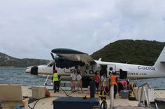 sea plane I took between St Croix and St Thomas