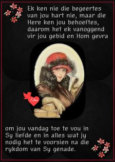 Goeie Nag, Goeie More, Good Night Quotes, Afrikaans, Christianity, Do Your Thing, Afrikaans Language