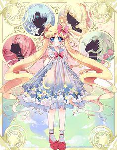 senshi-moon-empire:  Sailor Lolita Moon by Ayasal