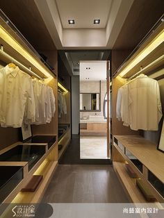 Room for everyone - walk in closets