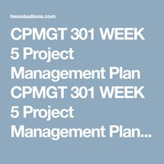 Hrm Pa Week  Draft Outline  Strategic Management Plan Part