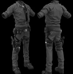 WIP Cyber Police, Zhang Yimin is part of Armor concept - Haven't finished, use the keyshot test I use ZBrush to work with hardsurfaces and use marvelous designer for cloth Tactical Armor, Tactical Wear, Tactical Clothing, Tactical Pants, Futuristic Armour, Sci Fi Armor, Combat Gear, Armor Concept, Concept Art