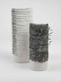 Rya runt en vas? gizella warburton' textile ceramics