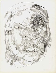 drawing by unica zurn, hans bellmer's wife