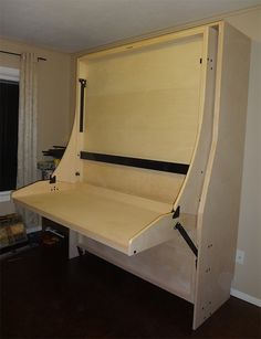 Space Saving Full Hidden Bed, Space Saving Double Desk Bed