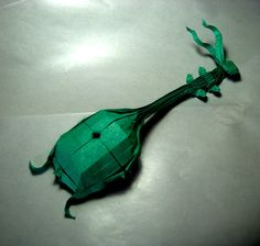 Take a Minuet to Look at this Amazing Music-Themed Origami #origami #papercraft #diy #craft #paper