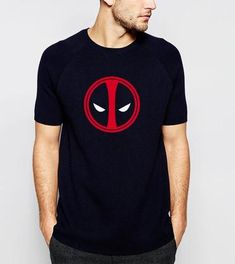 fca0d41a36 hot sale 2019 Summer X-men Deadpool T-Shirt 100% Cotton Comfortable T