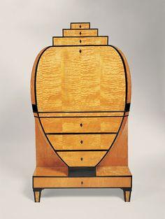 Biedermeier, Secretaire Art Deco, Art Nouveau, Table Lamp, Magazine, Lighting, Furniture, Design, Home Decor, Secretary