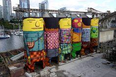 Los gemeos, artistas (gemelos) brasileños