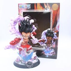Toys & Hobbies Faithful One Piece Figure One Piece Luffy Gear 4 Figure Pvc Monkey D Luffy Gear Fourth Collection Model Toy For Boys High Quality Materials