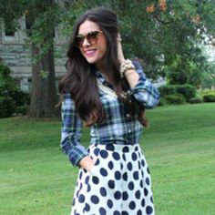 Chic Of The Week Emilys Print Mixing