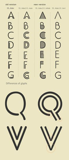 Typeface Adec - inspired by time of Art Deco and Constructivism.font can be used in posters, magazines, logos.distinguishing feature is the simplicity compilation of decorative elements, such as: texture, frames, etc.
